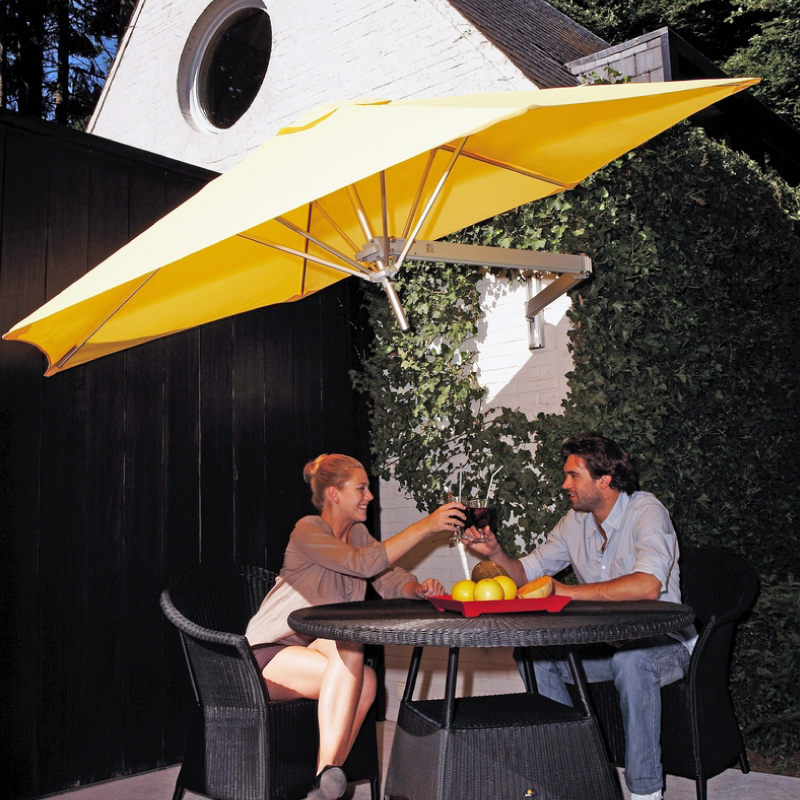 Paraflex-wall-mount umbrella- queensland